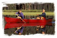 Canoeing on the Loxahachee River